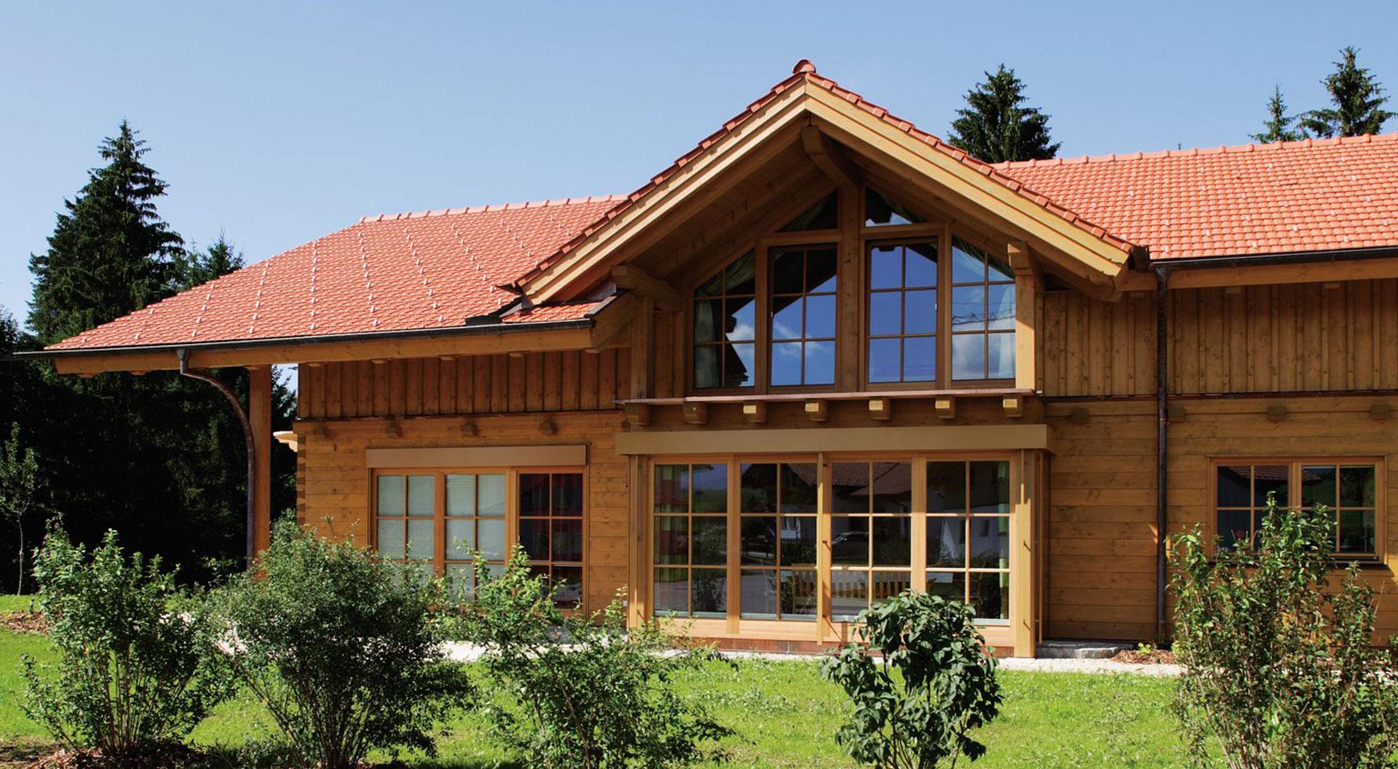 Domy w 100% ekologiczne